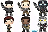 Pop! Games: Gears of War Marcus Fenix, Armored JD Fenix, Clayton Carmine, Armored Kait Diaz, Armored Del Walker, Locust Drone! Vinyl Figures Set of 6 by Gears of War