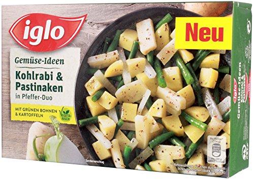 Iglo - Gemüse-Ideen Kohlrabi & Pastinaken in Pfeffer-Duo TK - 400g