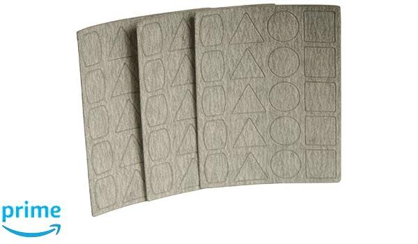 Proxxon 28824/Lot de 3 feuilles abrasives pour ponceuse