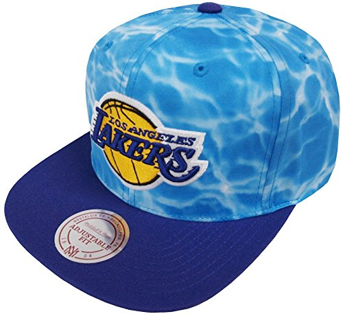Mitchell & Ness Los Angeles Lakers Surf Camo VF55Z Snapback Cap Kappe Basecap