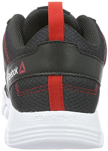 Reebok - Trainfusion Nine, Sneaker Donna Grigio (coal/Riot Red/White/Black)