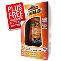 NEW! ArmorAll SHIELD Cera per auto e moto, per bambini, con panno, per & APP (Armor All Car Wax)