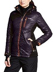Peak Mountain Acybrid/tg - Chaqueta de esquí para mujer, color negro, talla FR : M (Talla fabricante : 2)