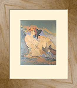 Framed Posters: - Francois Quilici Angel Hair Framed Art Print (41 x 34 cm)