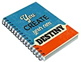 #10: Paper Plane Design Inspirational Thoughts A5 Size Notebook For School/College/Office For Important Notes/Personal Diary