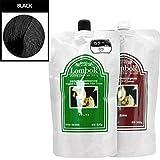 Gain Lombok Original LB Henna Hair Treatment Color Cream 6 Colors Pick one ( 01 Black)