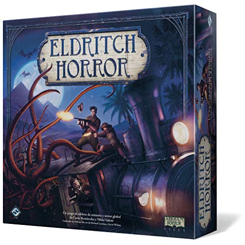 Comprar juego de mesa: Fantasy Flight Games Eldritch Horror - Eldritch Horror, Juego de Mesa (Edge Entertainment EH01)