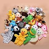 1pcs Zoo Animaux Gants en Peluche Marionnettes Jouets de Main ENFANT