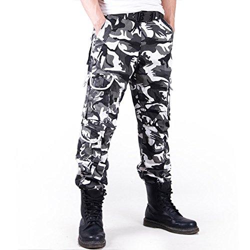 Roludom - Costume - Relaxed - Homme Noir Noir Noir - BAW Camo