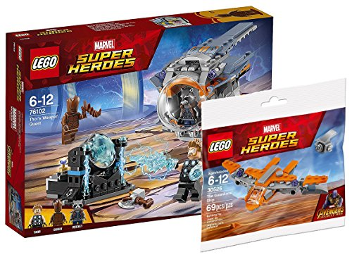 roes 76102 - Thors Waffenmission + LEGO Polybag 30525 The Guardians' Ship ()