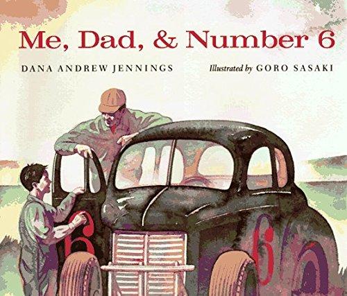 Portada del libro Me, Dad, & Number 6 by Dana Andrew Jennings (1997-02-01)