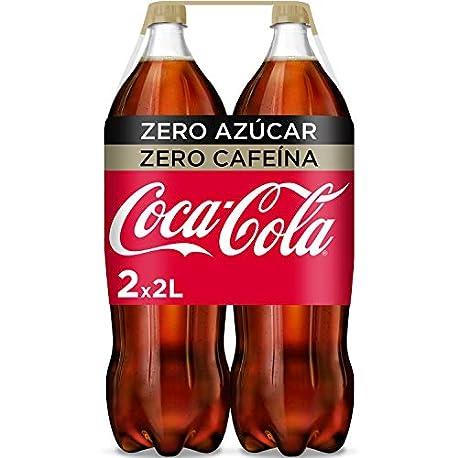 Coca Cola Zero Zero Refresco con gas de cola 2 l Pack de 2 Botella de pl stico