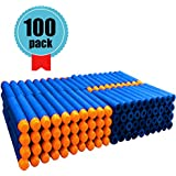 Foam Bullets Darts - 7.2cm Refill Bullets Darts Blue for Nerf N-strike Elite Series Blasters Kid Toy Gun Bullets