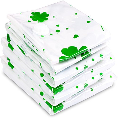 lucky-vacuum-storage-bags-with-green-trefoil-space-saver-bags-pack-of-5-compression-packs-for-clothe