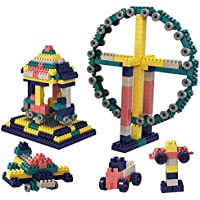 KINGBIRD - 300 Pieces Building Block Set, Classic Building Sets for Kids, Building Blocks in Bright Colors, Building…