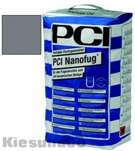 PCI NANOFUG BASALT 15 kg Sack Flexfugenmörtel Fugenmörtel - Für alle Fugenbreiten - innen, außen, Boden und Wand