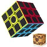 Splaks Cube 3x3x3 Vitesse Cube de Magique Spin Lisse Super Durable avec des Couleurs Vives pour Un Jeu de Formation sur Le Cerveau ou Un Cadeau de Vacances