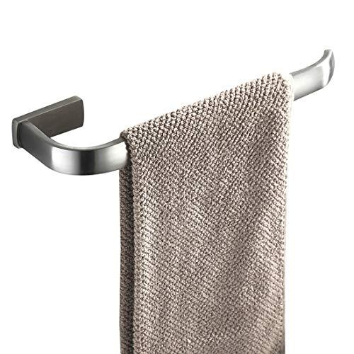 Bathfirst Handtuchring Hängender Handtuchhalter Messing gebürsteter Nickel Wandmontage Badezimmerzubehör -