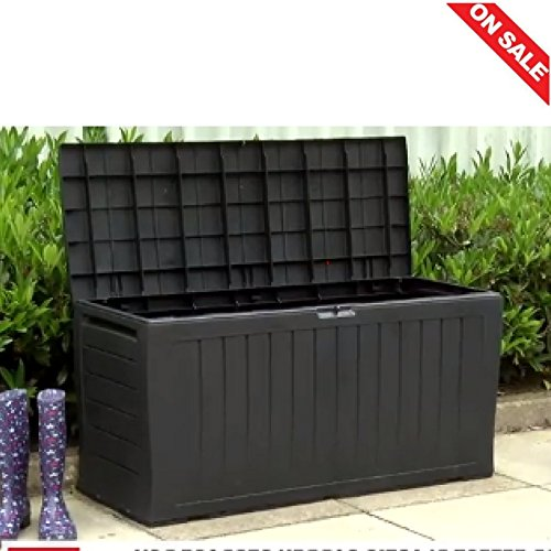 Outside Storage Box Plastic Large Garden Cube Outdoor External
