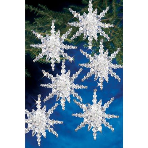 Beadery Kunststoff Holiday Perlen Ornament Kit Snow Cluster 3,5Macht 12