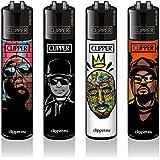 Clipper® Feuerzeuge - Hip Hop Legends - 4er Set