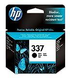 HP 337Black Inkjet Print Cartridge schwarz Tintenpatrone Druckerpatrone für HP PhotoSmart 2575Drucker (schwarz, 8050, HP DeskJet 5940, Standardkapazität, Schwarz, Tintenstrahl, 20–80%)