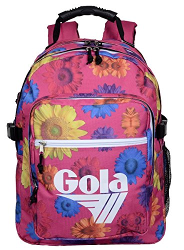 ZAINO GOLA BRODY 2 MULTI SUNFLOWER FUCHSIA/BLACK/WHITE