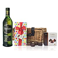 Glenfiddich 12 Year Old Whisky and Chocolates Hamper by Drinxcom