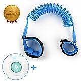 ELECPLAY Sicurezza bambino Anti-Perso bambino della cinghia del polso link elastica 360 Cuff 1,8 metro (blu) immagine