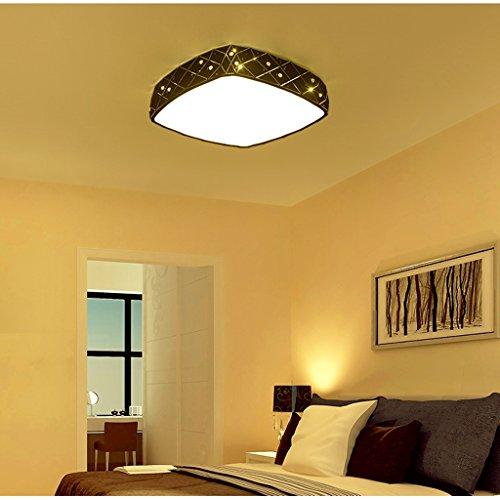 ZXW-Moderne-Deckenleuchte-Kristalldekoration-Wohnzimmer-Schlafzimmer-Bgeleisen-Bgeleisen-Licht-Acryl-Material-LED-Chip-Farbe-Schwarz-5050cm