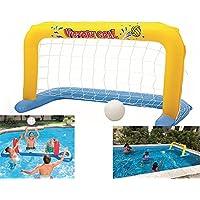Andensoner Juego de la Piscina, Deportes al Aire Libre Juguetes inflables de la Playa para el Juego de Voleibol del balompié del Baloncesto de la Piscina (Color : 2# )