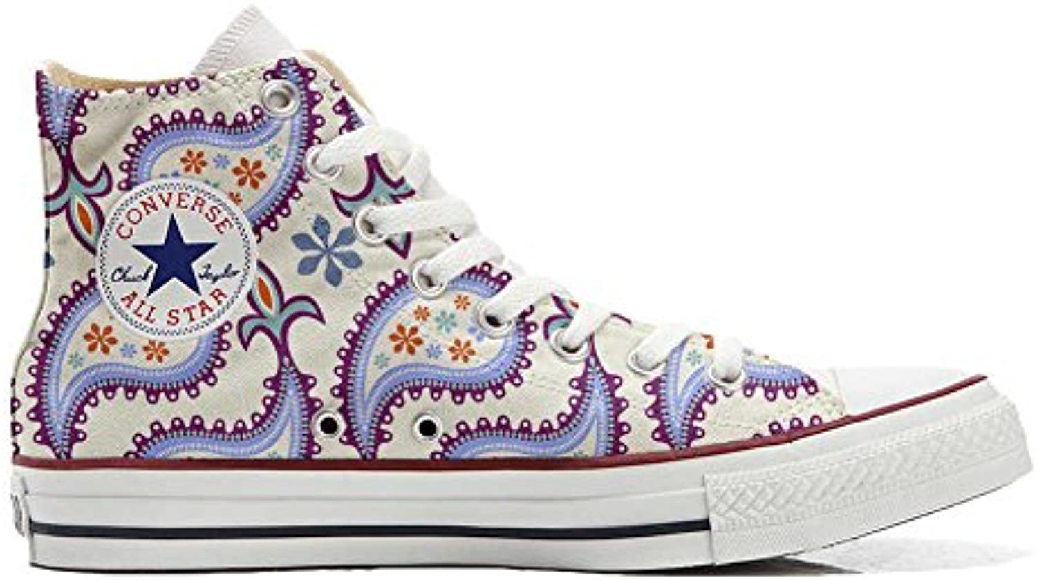 mys Converse All Star Personalisierte Schuhe   Handmade Shoes   Decorative Paisley