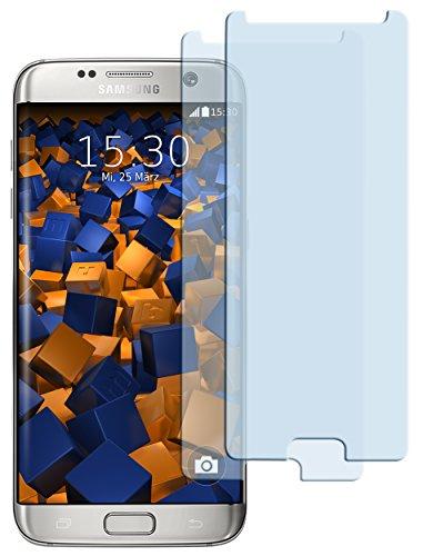 2x mumbi ECO Panzerfolie für Samsung Galaxy S7 Edge Panzerglas Glasfolie