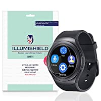 iLLumiShield - Samsung Gear S2 52mm Screen Protector / Anti-Glare (Matte) HD Clear Film / Anti-Bubble & Anti-Fingerprint / Japanese Invisible Shield + Lifetime Warranty - [3-Pack] {4G, AT&T, T-Mobile}