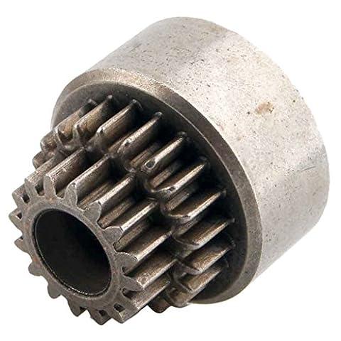 Gazechimp RC HSP 02023 Stahl Doppelgetriebe Kupplungsglocke für HSP 1:10 Nitro Auto Buggy Zubehör - Durchmesser: Ca. 40mm
