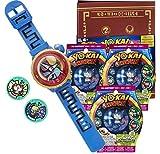 Yo-Kai Watch Montre parlante Yo-Kai Watch Modèle Zéro + 3 sachets de 2 médailles + Medallium