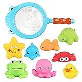 Himki Babyspielzeug Badewannenspielzeug Ocean Spray Badespielzeug für Babys (Hai)