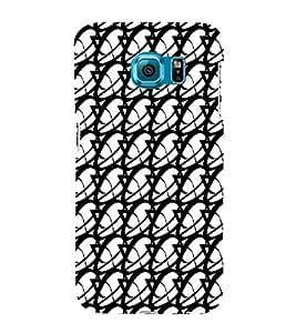 Ebby Premium 3d Desinger Printed Back Case Cover For Samsung S6 Edge (Premium Desinger Case)