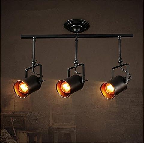 Industrielle wind kreative Wohnzimmer Bar Retro-Spur-Beleuchtung/LED kommerzielle Beleuchtung Shop drei Strahler
