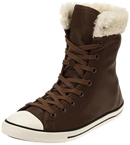 Converse Chuck Taylor All Star Dainty Shear Damen, Sneaker Braun (Chocolat)