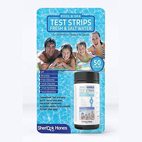 Schwimmbad Teststreifen, Whirlpool, Spa & Pool ~ FRESH & Salz Wasser ~ 6in 1akkurate Teststreifen., wollen Sie Testen Sie Ihr PH, Brom, freies Chlor, Gesamt Chlor, Total Härte und total Alkali