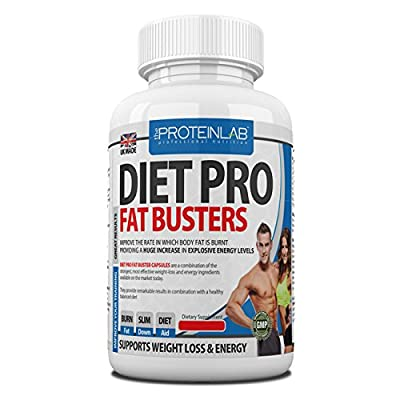 Diet Pro Fat Busters, ULTRA Strong Weight Loss Diet Pills Fat Burners for Men & Women (Work Quicker Than Raspberry Ketone, Colon Cleanse, Detox Tablets), Slimming Supplement, Lose Weight Fast