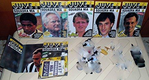 LOTTO RIVISTE CALCIO VINTAGE JUVENTUS ANNI 90 JUVE SQUADRA MIA-GADGET,FIGURINE,POSTER,TOTò SCHILLACI,TRAPATTONI,BONIPERTI,STEFANO TACCONI,ROBERTO BAGGIO,MAROCCHI,DE AGOSTINI,ECC