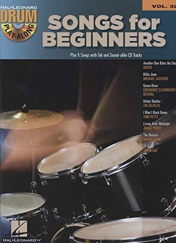 Songs for beginners batterie+CD (Drum Playalong)