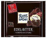 Ritter Sport Edel-Bitter 73 % Kakao - 100gr - 4x