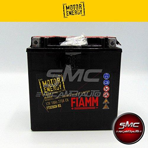 FTX20CH-BS BATTERIA MOTO FIAMM MOTOR ENERGY YUASA YTX20CH-BS 18A 270A + LIQUIDO