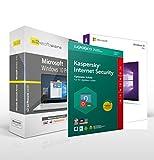 Microsoft® Windows 10 Professional (PRO) + Kaspersky Internet Security für 3 Geräte. S2 DVD Box. 32&64 bit. Deutsch. Original Lizenzschlüssel