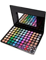 Palette classique! 88 couleurs ombres A paupieres fard serie mat nacre maquillage RETRO LOVE+ brosse