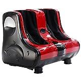 Costway Deluxe Electric Circulation Foot Leg Massager Shiatsu Blood Massage Machine