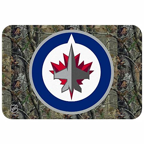 NHL Winnipeg Jets 20-by-30 Inch Realtree Floor Mat